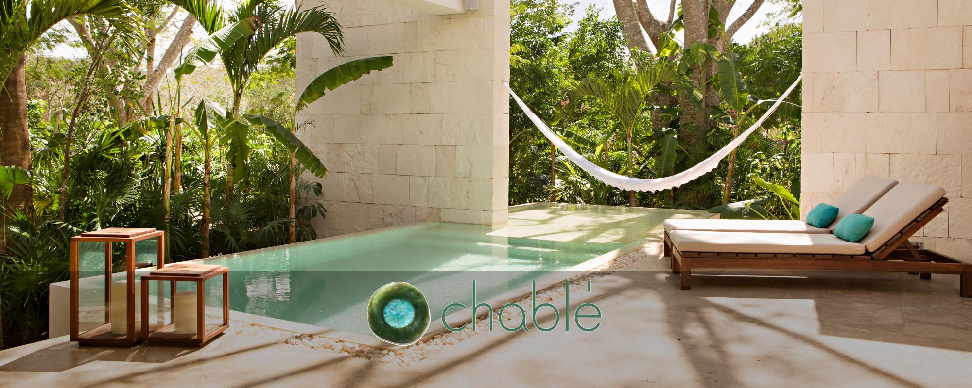 Chable Yucatan homepage slider