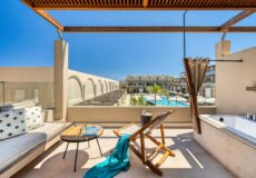 Greece_Crete_Domes_Noruz_Chania_Wellness_Loft_Suite_Pool_View_with_Outdoor_Heated_Jacuzzi_fivestardestination_five_star_destination_23